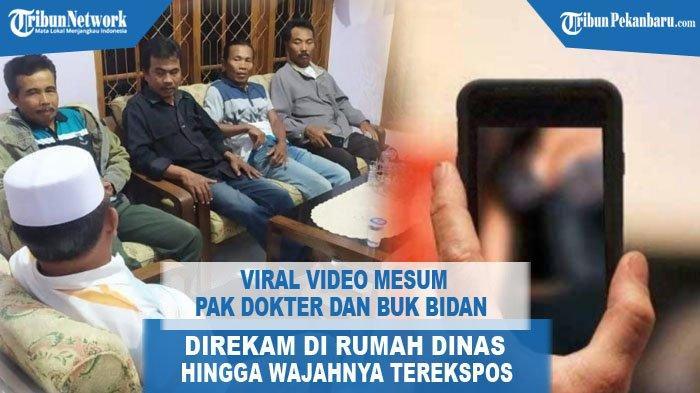 Viral video mesum Dokter dan Bidan di Jember