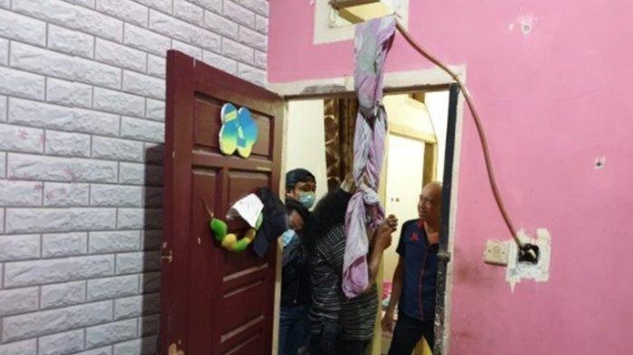 Ada Wanita Tergantung di Pintu Kamar Mandi, Tewas Dalam Keadaan Lagi Hamil, Pelakunya Suami Sendiri