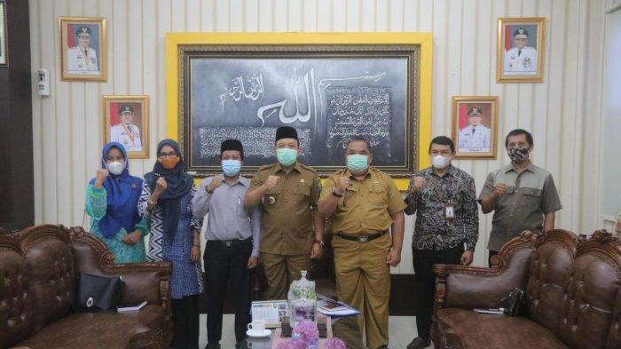 Wabup Siak dan Pengurus MES Bahas Pertamina Pertashop dan BUMKam Syariah