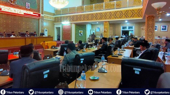 Wakil Rakyat di DPRD Pelalawan Batal Sahkan Ranperda Trantibum karena Rapat Paripurna Tak Quorum
