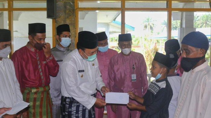 Wakil Bupati Siak Apresiasi PTPN V dan UPZ Sei Buatan Komit dalam Membayar Zakat