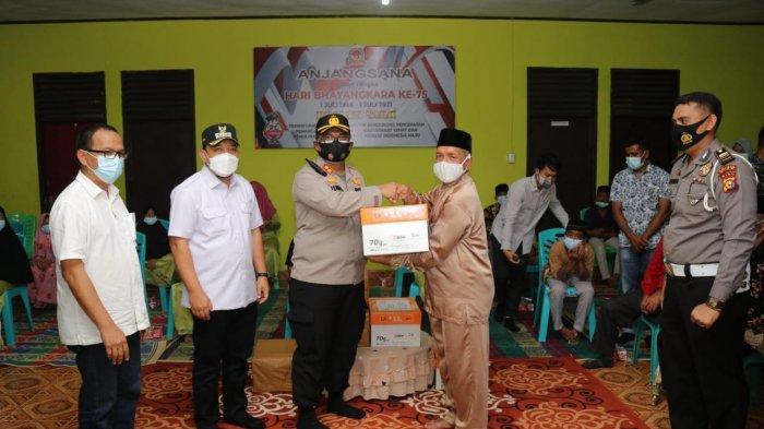 Wakil Bupati Siak dan Kapolres Siak Kunjungi Pangi Asuhan dan SLB Fajar Amanah