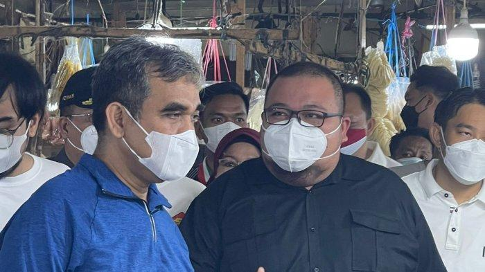 Wakil Ketua MPR RI Kunjungi Pasar Bawah Pekanbaru, Begini Harapan DPRD Pekanbaru
