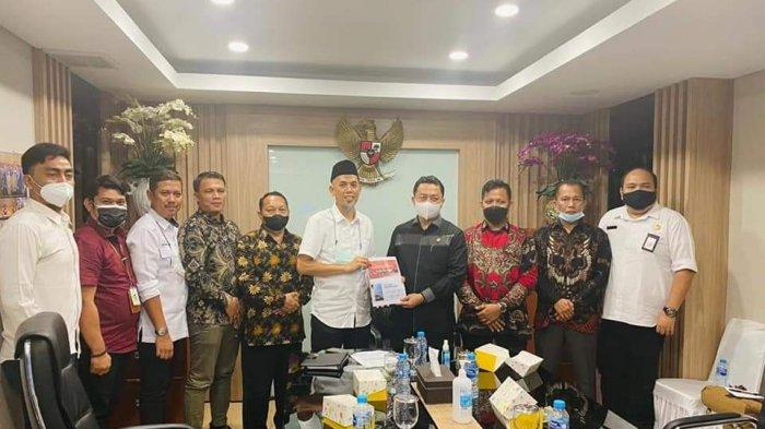 Datangi Anggota DPR RI ke Jakarta, Walikota Dumai Ngadu Persoalan Banjir, Berharap Bantuan Ini