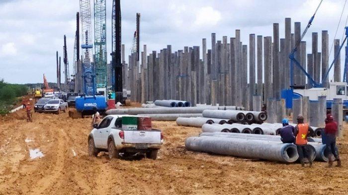 Pasca Kecelakaan di Bengkalis Pengerjaan Jalan Tol Lanjut, Rest Area Dibangun di 2 Tempat di Kampar