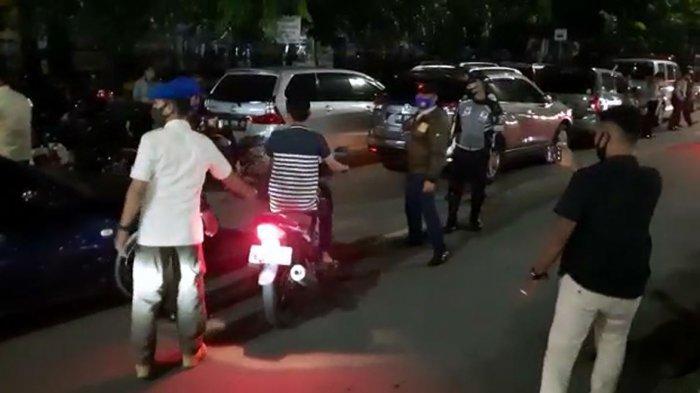 Tegas Terapkan Protokol Kesehatan, Siang Malam Petugas Siaga Berlakukan PSBM di Kota Pekanbaru