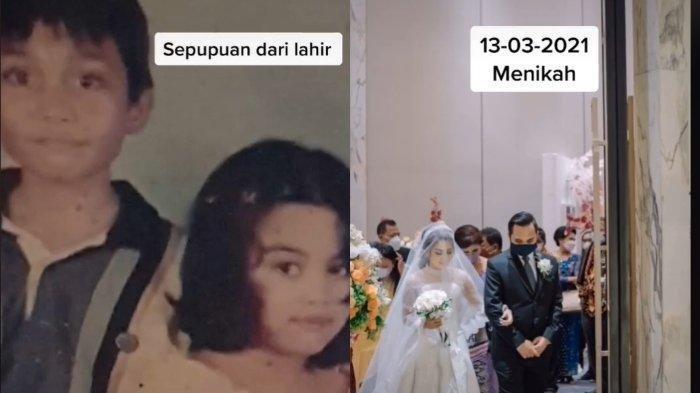 Viral di TikTok Kisah Pernikahan Wanita dengan Sepupu Sendiri, Bukan Sembarang Sepupu