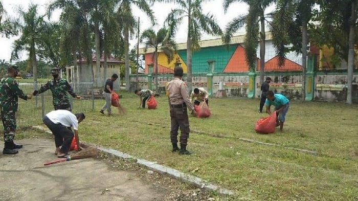 2.603 Warga di Inhu Diberi Sanksi Tim Pemburu Teking, Minim Kesadaran Terapkan Protokol Kesehatan