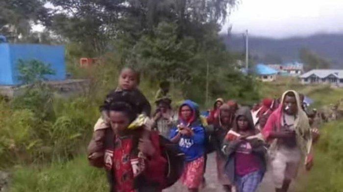 Warga Intan Jaya di empat kampung mengungsi usai teror KKB OPM