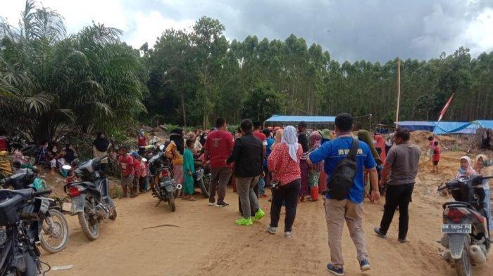 Inventarisasi Lahan Konflik Rantau Kasih vs PT NWR di Kampar Diusulkan 1.700 Ha