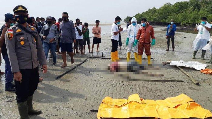 Warga Rupat Temukan Sosok Mayat di Pantai, Dari Tanda-tandanya Diduga Nelayan Malaysia