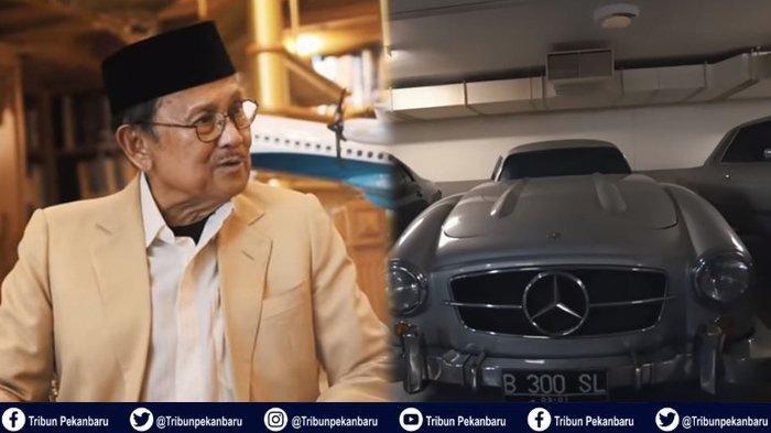 WARISAN Presiden RI Ketiga BJ Habibie, Mobil Klasik hingga Pesawat Terbang R80 bagi Rakyat Indonesia