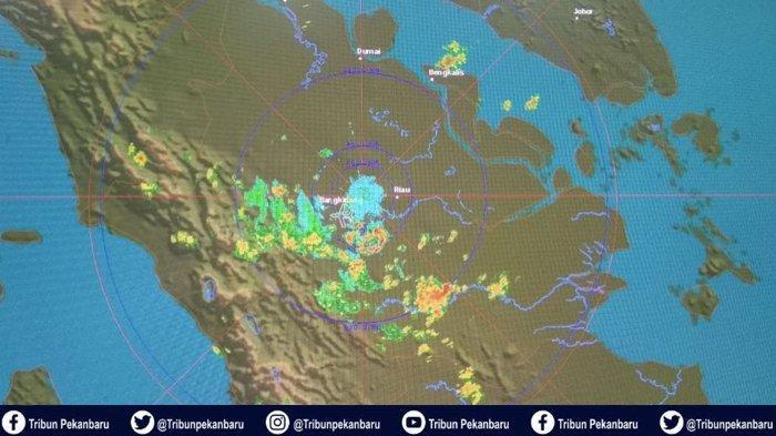 Peringatan Dini BMKG: Waspada Cuaca Ekstrem 31 Desember 2019 hingga 1 Januari 2020 di Wilayah Ini
