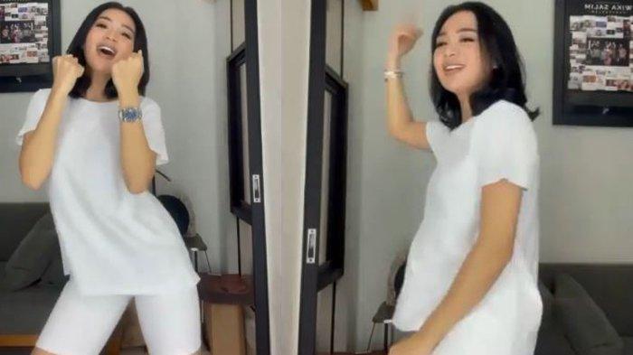 Wika Salim Pakai Legging Ketat, Joget Lagi Pengen, Semprit Jenita Janet, Sebut Penyanyi Jadi-jadian