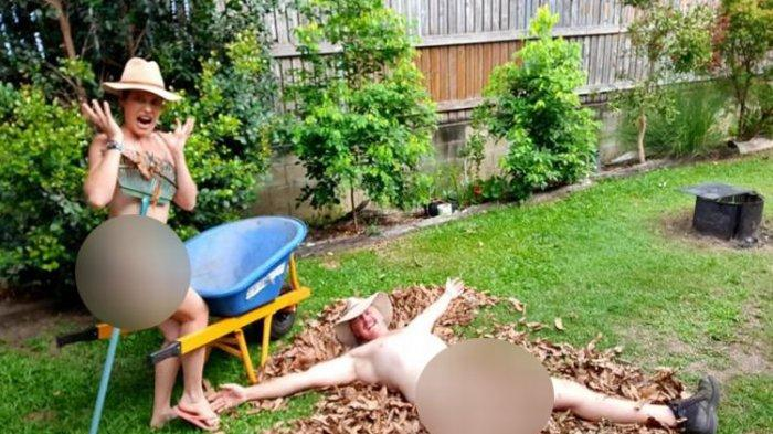 Ya Ampun, Foto Pasangan Telanjang di Hari Berkebun Tanpa Busana di Australia Viral