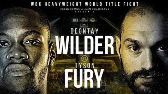 Siaran Langsung Tinju Dunia Hari Minggu Kelas Berat Fury vs Wilder:  Live Indosiar