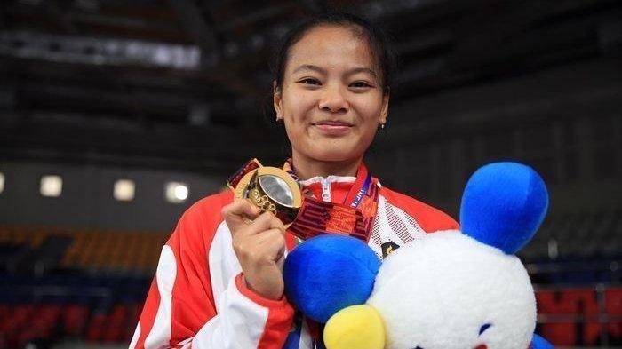 Windy Cantika, Peraih Medali Pertama Indonesia di Olimpiade Tokyo,Ternyata Ibunya Lifter Berprestasi