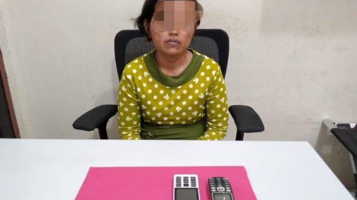 Edarkan Sabu, Wanita di Kampar Ini Diamankan Polisi, Sita 8 Paket Sabu yang Hendak Diedarkan