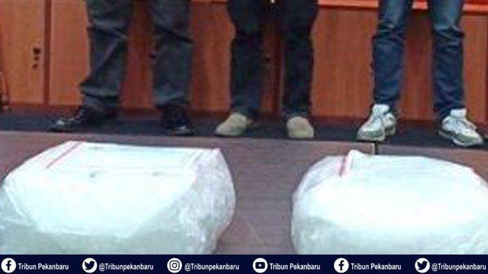 5 Pengedar Narkoba 50 Kg Dituntut Hukuman Mati oleh Jaksa Kejari Kampar