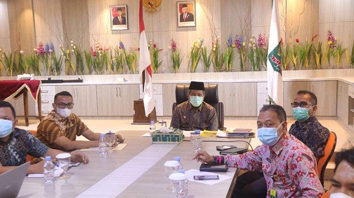 Bupati Siak Bersama Ombudsman RI Perwakilan Riau Buka Workshop Penilaian Kepatuhan