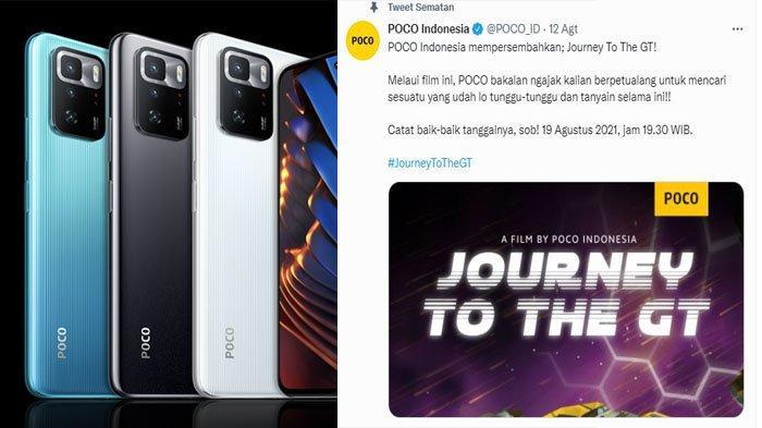 Poco X3 GT 5G Resmi Meluncur 19 Agustus di Indonesia, Ini Spek dan Harganya