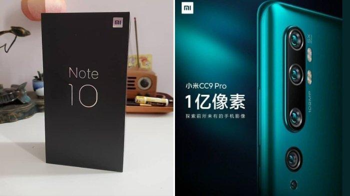 Resmi Meluncur, Xiaomi Mi CC9 Pro, Kamera Belakang Miliki Lima Buah Sensor