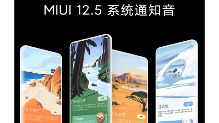 Mirip iOS, Xiaomi Luncurkan MIUI 12.5 untuk Global, Ini Ponsel-ponsel yang Dapat Upgradenya