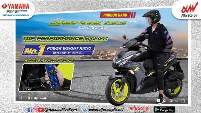 Yamaha All New Aerox, All NewAerox155 Connected Miliki Fitur Y-Connect