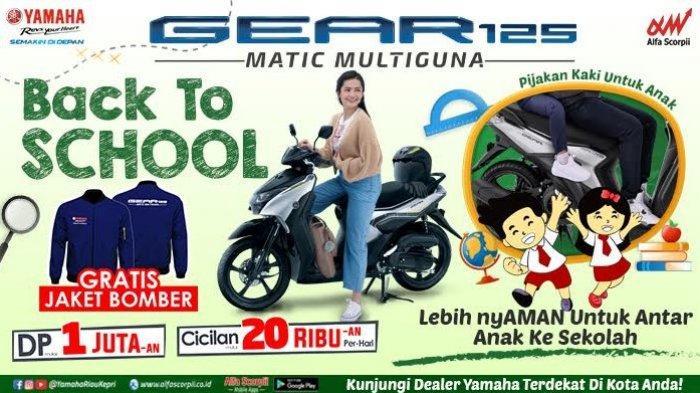 Yamaha Gear 125 Back to School