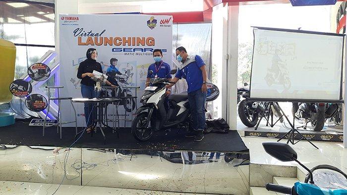 Uang Muka Cuma Rp1 Juta Bisa Bawa Pulang Yamaha Gear 125, Motor Matic Multiguna Mengaspal di Riau