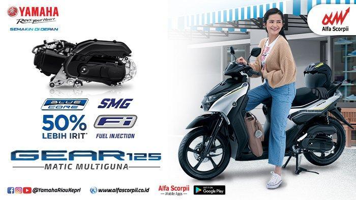 Yamaha Gear 125 Telah Hadir di Pekanbaru Riau, Harga Mulai Rp 18 Jutaan