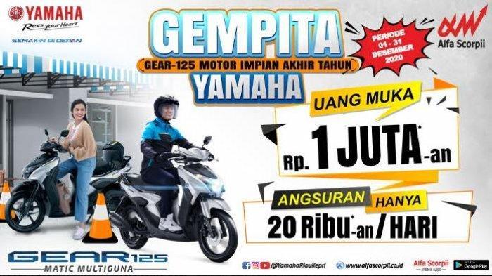 Promo Yamaha GEMPITA Uang Muka 1 Jutaan