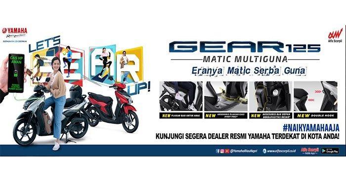 """Yamaha GEAR 125 Mengusung Konsep """"Matic Multiguna"""""""