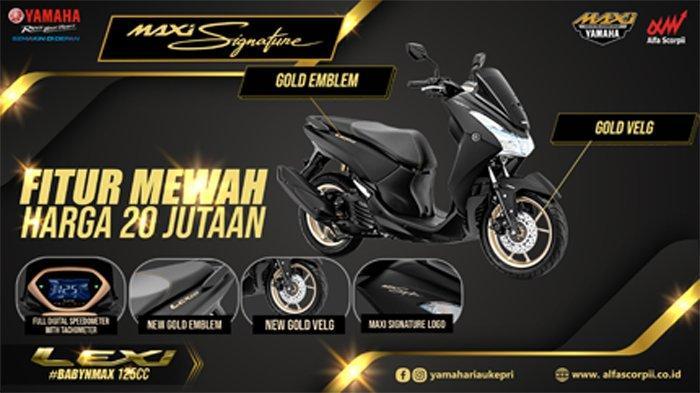 Yamaha Lexi Usung Konsep Desain Body Baru, Tampil Luxury dan Elegan