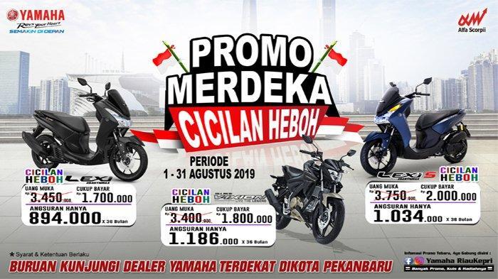 'Promo Merdeka Cicilan Heboh' di Yamaha Alfa Scorpi