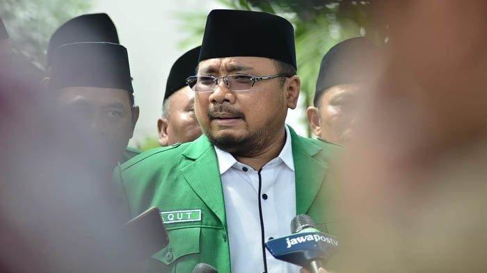 Panglima Banser Dihina, Foto Menag Gus Yaqut Diedit Bermata Satu Dan Tulis Dajjal Telah Turun