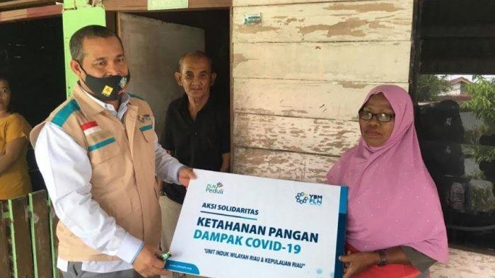 YBM PLN UIW RIAU & KEPRI Salurkan 745 Paket Sembako Untuk Masyarakat Terdampak Covid-19