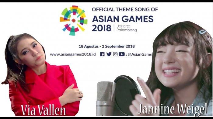 Begini Jadinya Lagu Asian Game 2018, Meraih Bintang Dinyanyikan Ulang Youtuber Cantik Thailand
