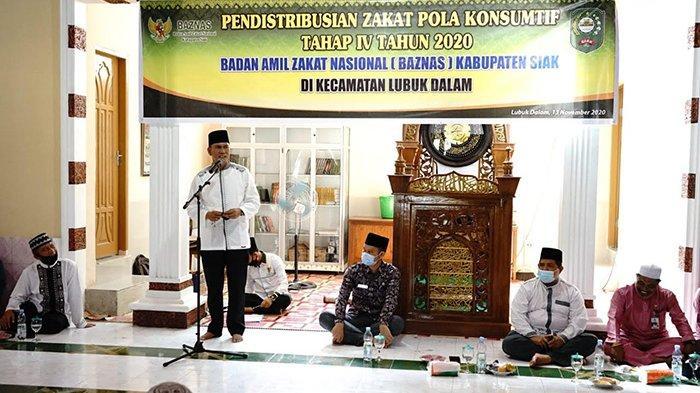 Potensi Zakat Siak Riau Rp 46 Miliar Per Tahun, Masih Banyak Muzaki Belum Membayar Zakat