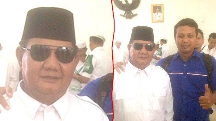 Prabowo KW Asal Pekanbaru Bikin Heboh Bandara SSK II, Saking Miripnya Banyak Orang Tertipu