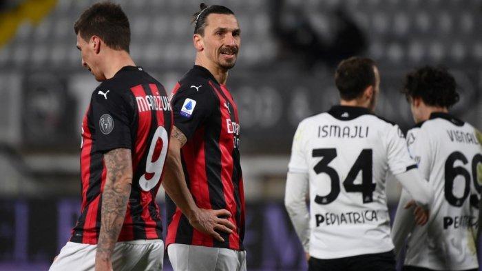 Derby Minalo, Live AC Milan vs Inter Milan Akhir Pekan Ini, Pioli akan Duetkan Ibra dengan Mandzukic