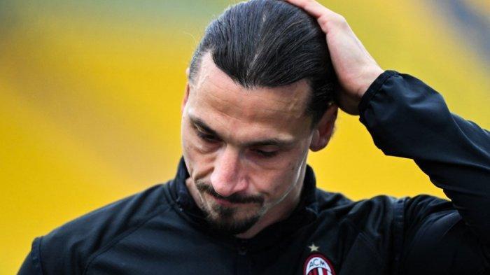 Striker AC Milan Zlatan Ibrahimovic