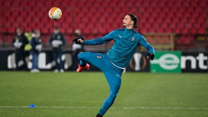 AC Milan vs Manchester United, Ibrahimovic Come Back, Stefano Pioli Tatap Final Liga Eropa