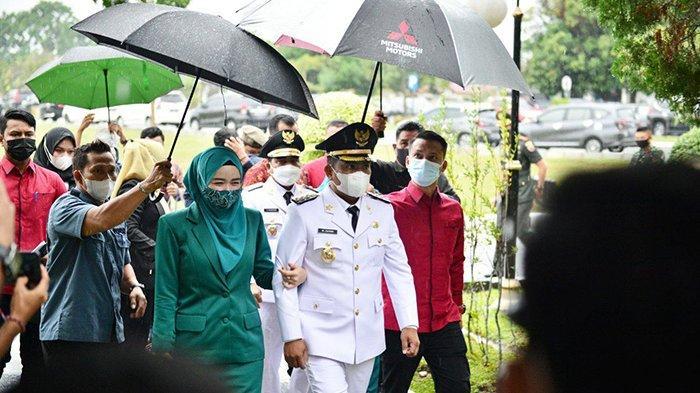 Usai Dilantik,Bupati Pelalawan Zukri dan Wabup Nasarudin Sambangi 5 Panti Asuhan, Apa Agendanya?
