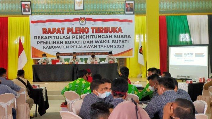 Zukri-Nasarudin Raup 68.021 Suara, Ini Hasil Pleno KPU Soal Rekapitulasi Perolehan Pilkada Pelalawan