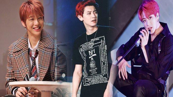 11 Idola K-Pop Cowok yang Tampil Mempesona dengan Rambut Merah