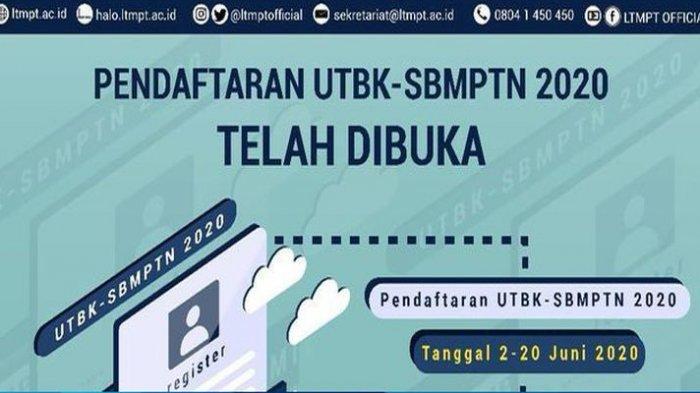 UPDATE Jadwal Tes UTBK dan Pengumuman SBMPTN 2020 Login Laman LTMPT di Portal.ltmpt.ac.id