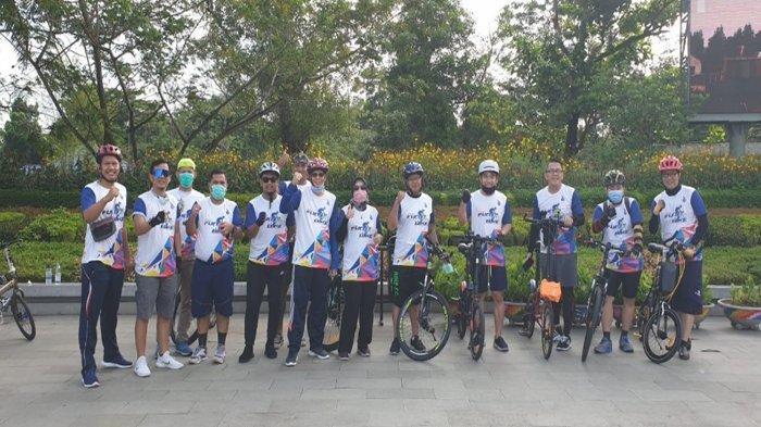 150 Peserta Ramaikan Fun Bike Pekan Nasional Keselamatan Berkendara di Pontianak