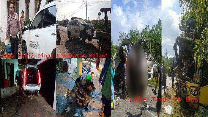 Polisi Gunakan Alat Canggih Bongkar PenyebabKecelakaan di Jalan Tans Kalimantan