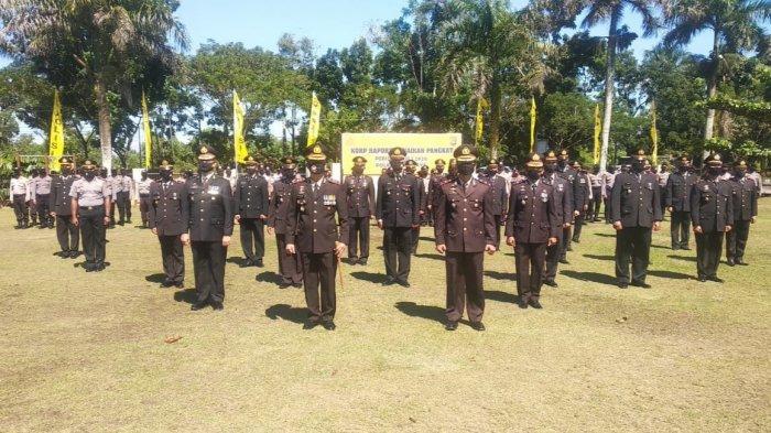29 Personel Polres Kubu Raya Naik Pangkat, Charles: Berupaya Tekan Angka Kejahatan